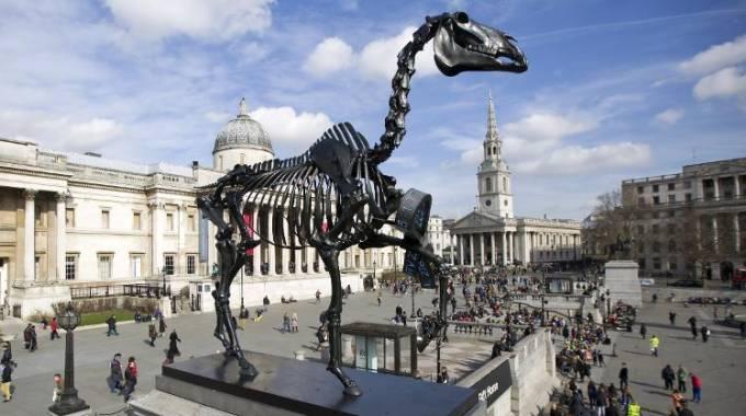 Gift Horse a Trafalgar Square, Londra