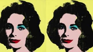 Liz Taylor di Andy Warhol