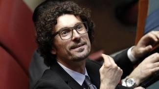 Danilo Toninelli di M5S (Ansa)