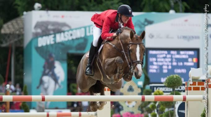 Jos Verlooy on Farfelu de la Pomme - MA/10/BWP/chest/Vigo d'Arsouilles/Darco/Axel Verlooy Euro Horse